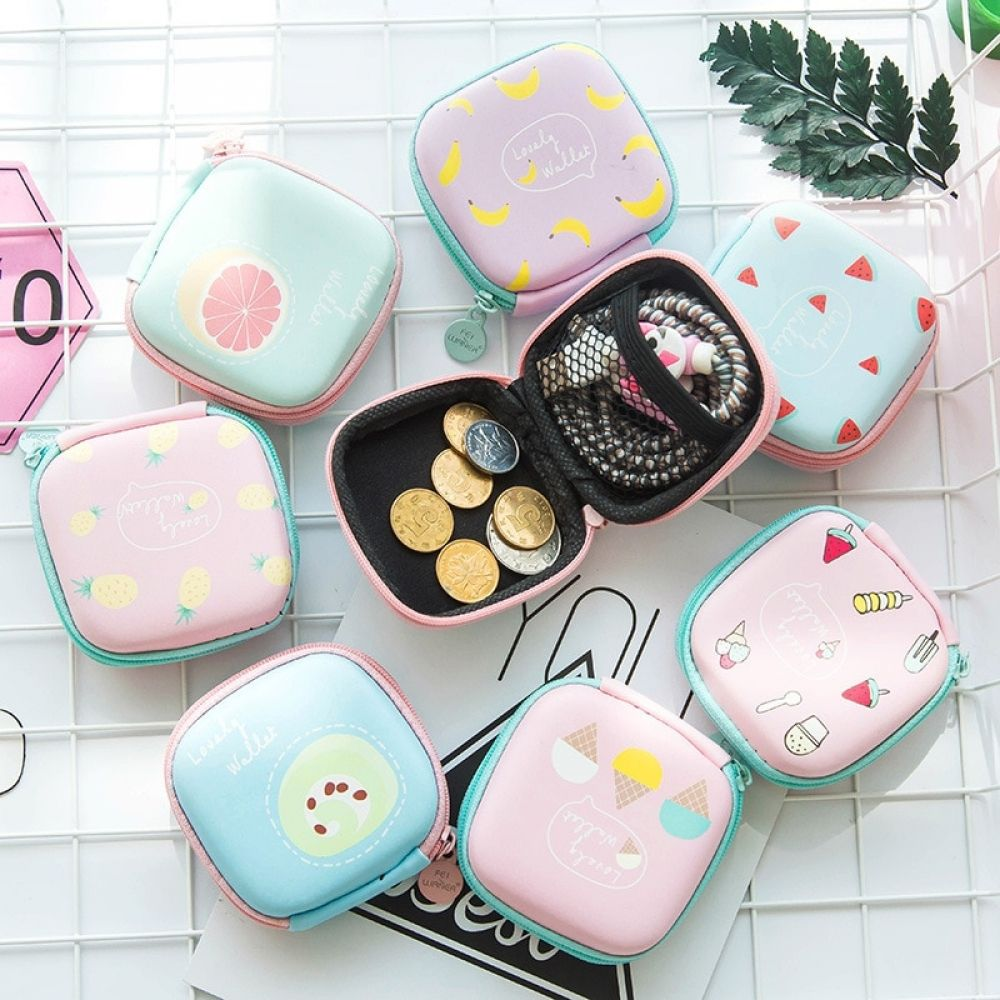 Cute Storage Case For Earphone Price 900  FREE Shipping