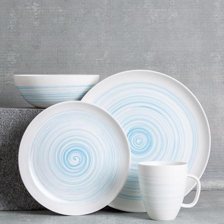 Charmouth Blue Dinnerware Sets Blue Dinnerware Sets Dinnerware