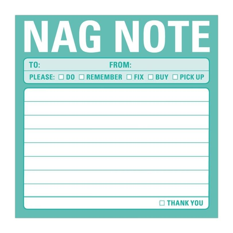 Nag-Notes-Pad \u2022 Walletburn Product Discovery Note