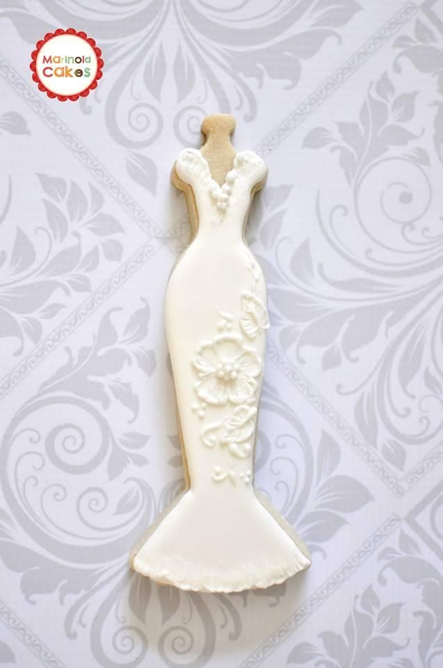 Bridal Gown Cookie | Cookie Connection | High Tea Cookies ...