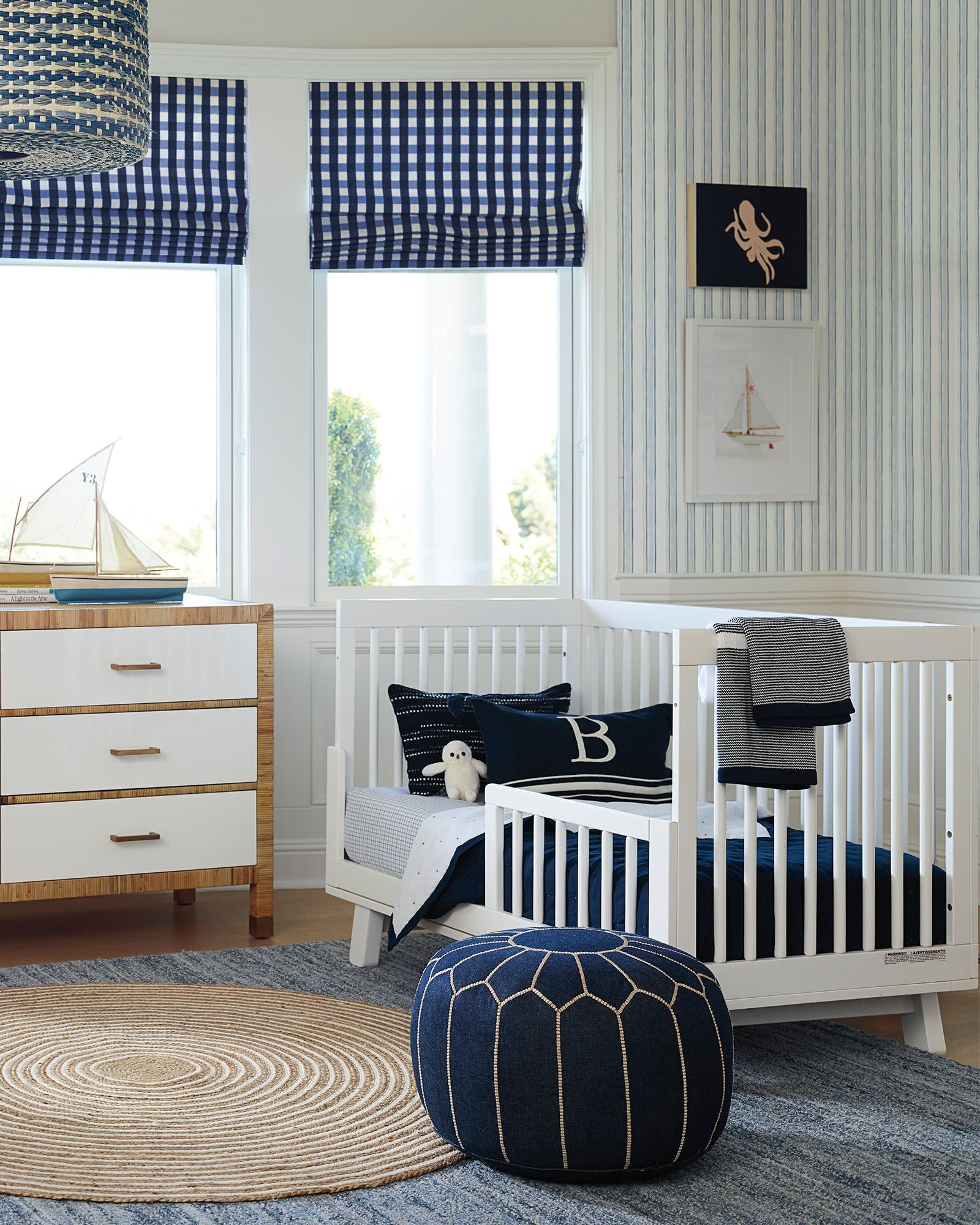 Serena & Lily Sutter Mini Quilt in 2019 Rugs, Denim rug