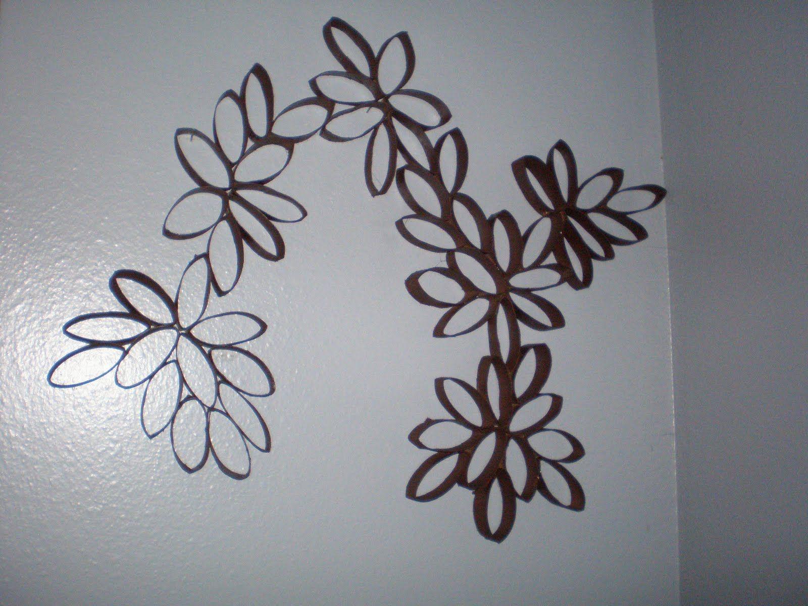 Wall art flowers made from toilet paper rolls sunshine to my soul wall art flowers made from toilet paper rolls sunshine to my soul toilet paper roll wall art mightylinksfo