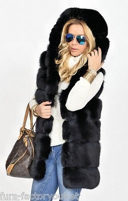 NEW 2016 BLACK FOX FUR LONG VEST HOOD CLASS OF CHINCHILLA JACKET COAT MINK SABLE https://t.co/TTTxhyIIVd https://t.co/8cIPMWBa3W