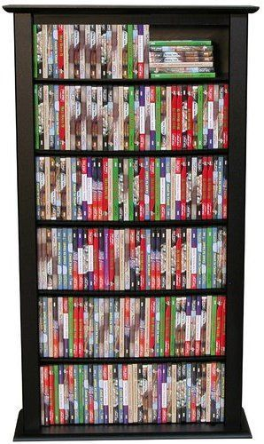 Regular Single Multimedia Storage Rack Media Storage Tower