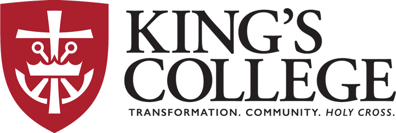 King S College Logo Pennsylvania Colleges King S College College