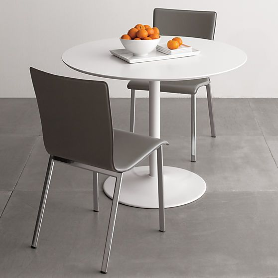 Odyssey White Tulip Dining Table Reviews Cb2 Dining Table White Dining Table Dining Room