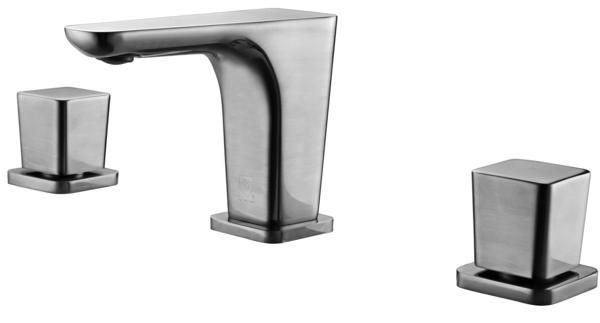 Photo of Brushed nickel Widely used modern bathroom fitting