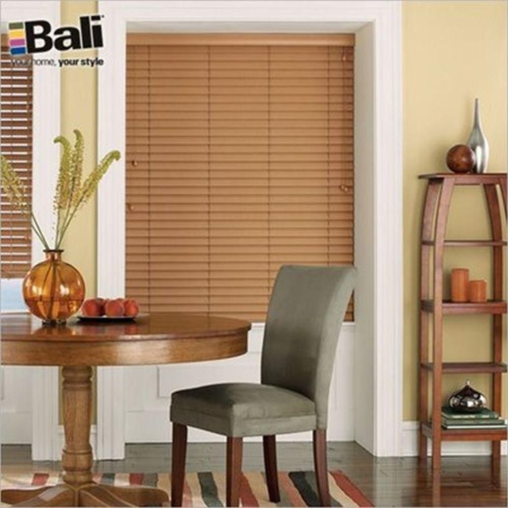Bali Essentials 2 in. Faux Wood Blind, Custom Faux wood