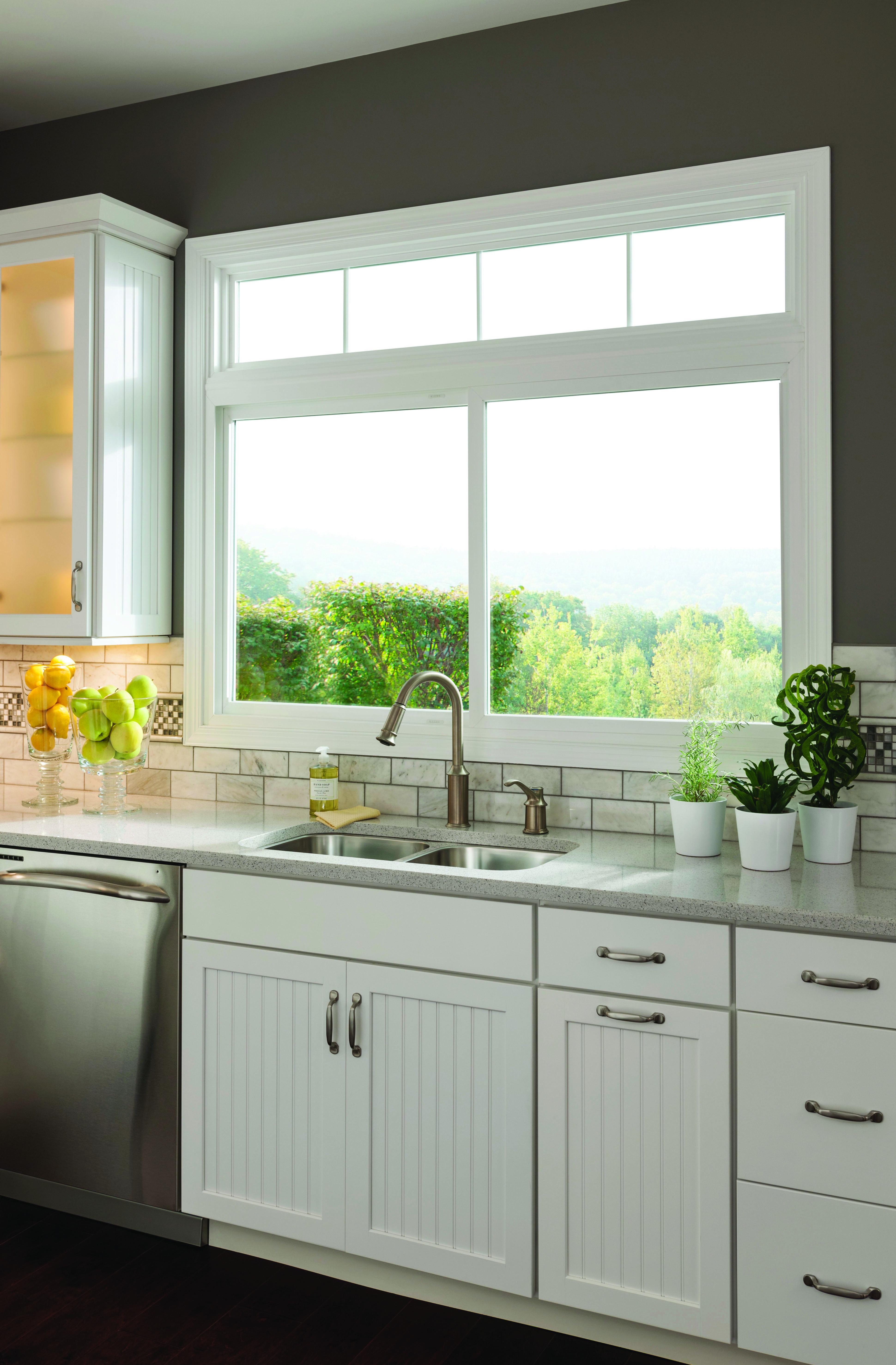 Window World Sliding Window  Kitchen window design, Sliding