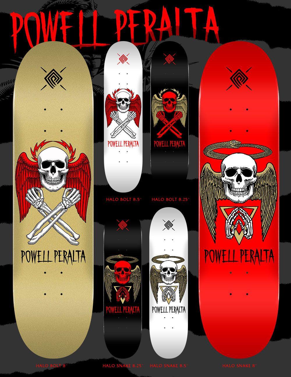 Powell Peralta Halo Skateboards Powell Peralta Cool Skateboards Peralta