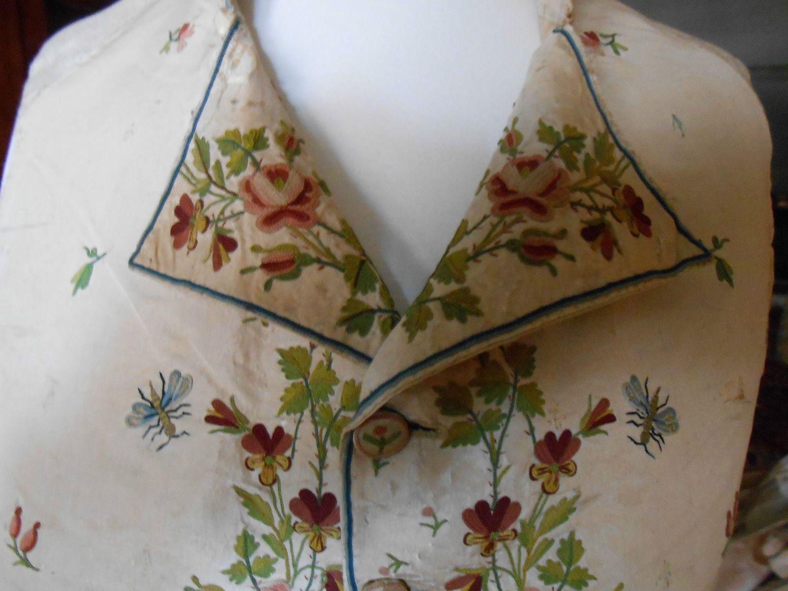 Gilet 18ÈME Siècle Late 18th Century Waistcoat | eBay