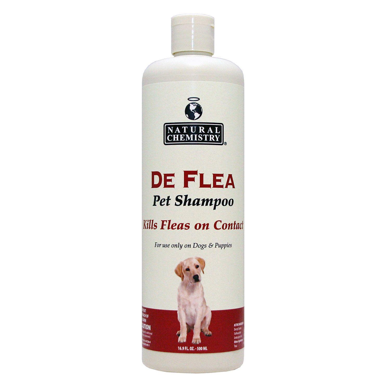 Natural Chemistry De Flea Pet Shampoo 33 3 Oz Flea Shampoo For Dogs Pet Shampoo Flea Shampoo