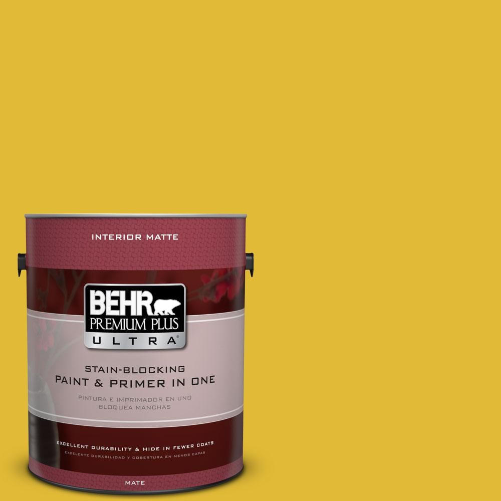 Behr Ultra 5 Gal P310 7 Solarium Flat Exterior Paint And Primer In One 485305 The Home Depot Interior Paint Behr Premium Plus Ultra Painted Floors