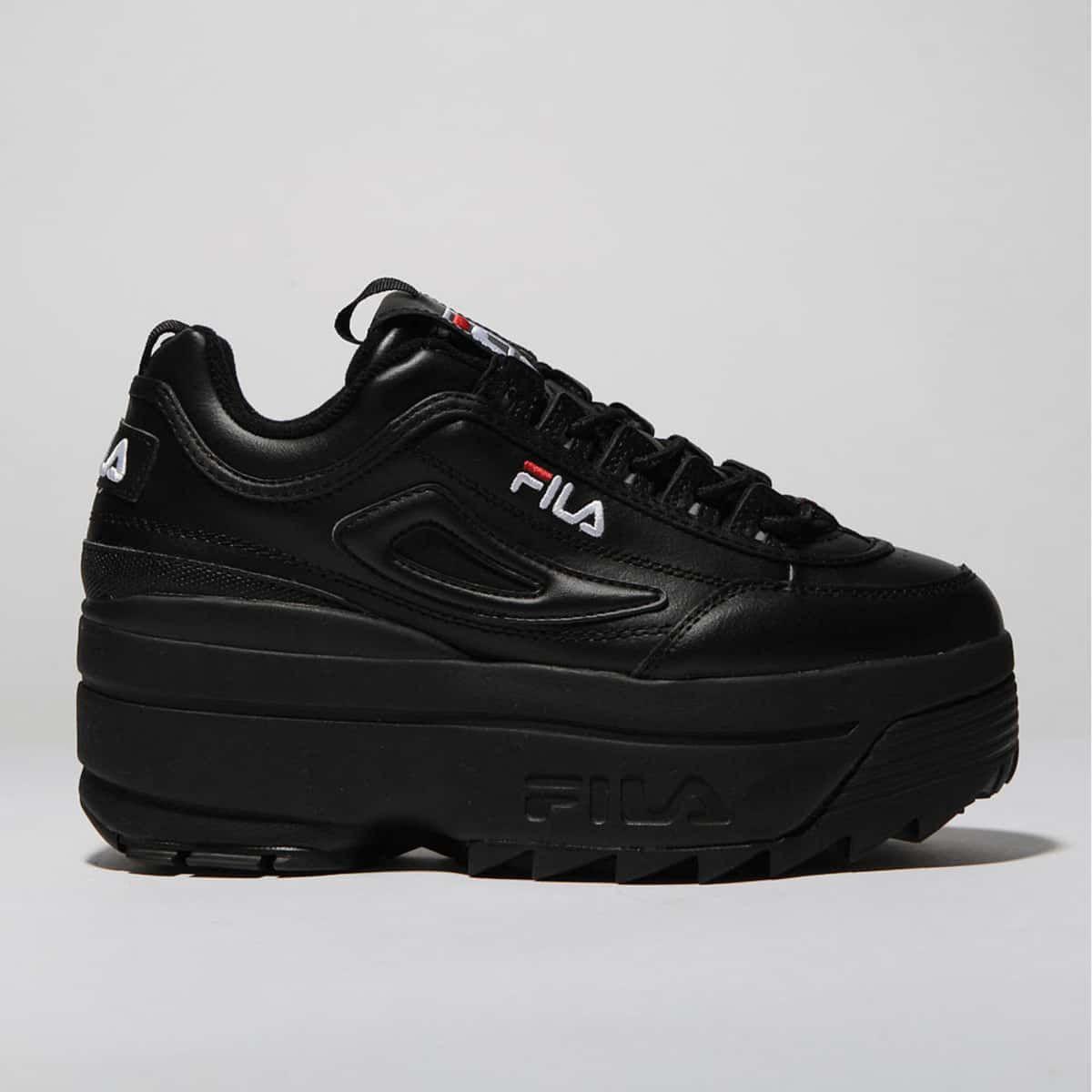 Fila black disruptor ii platform trainers Zapatos fila  Zapatos fila