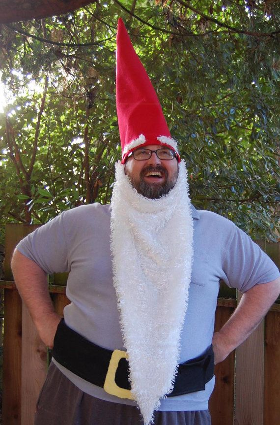 Halloween-Costuming- Garden gnome Holiday-Halloween-Costuming - halloween costume ideas for men diy