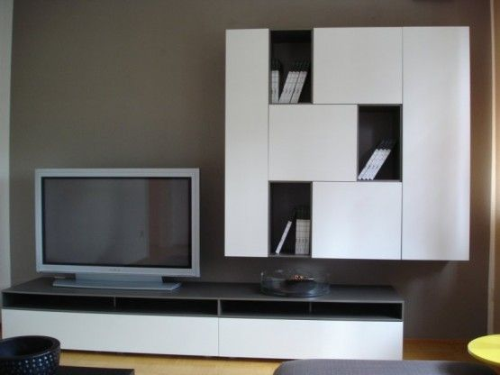 CUBE CHANGE TV-Wand von Interlübke   Wohnzimmer