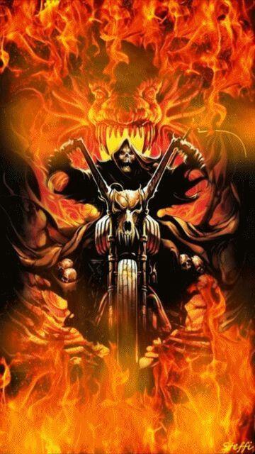 Pin By Nadine Garrow On Skulls Ghost Rider Wallpaper Ghost Rider Marvel Ghost Rider