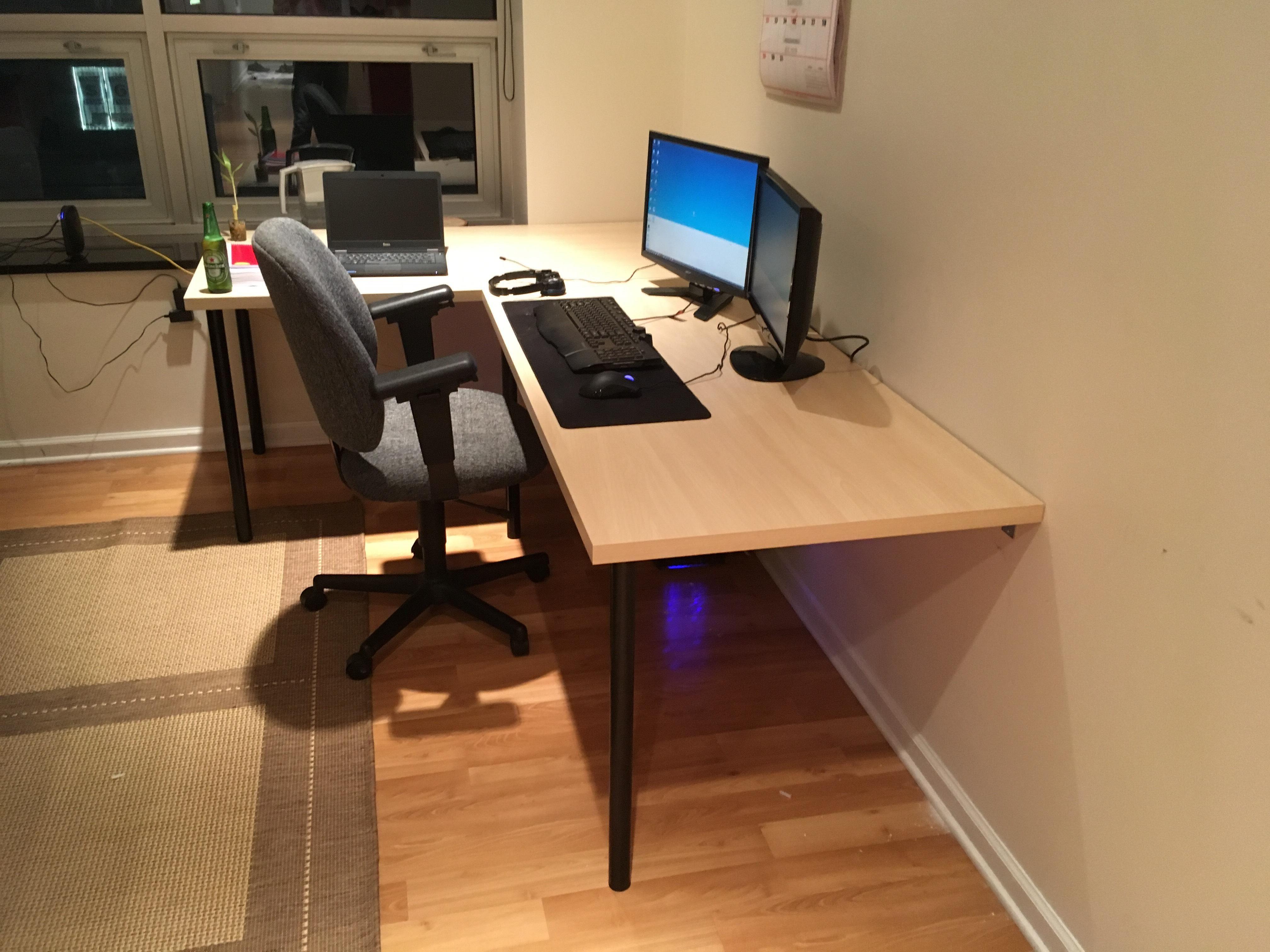 Design Homemade Desks 80 dollar homemade desk ikea games setup pinterest desk