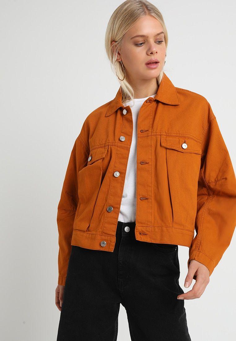 AREZZO JACKET Veste en jean rusty orange @ ZALANDO.FR