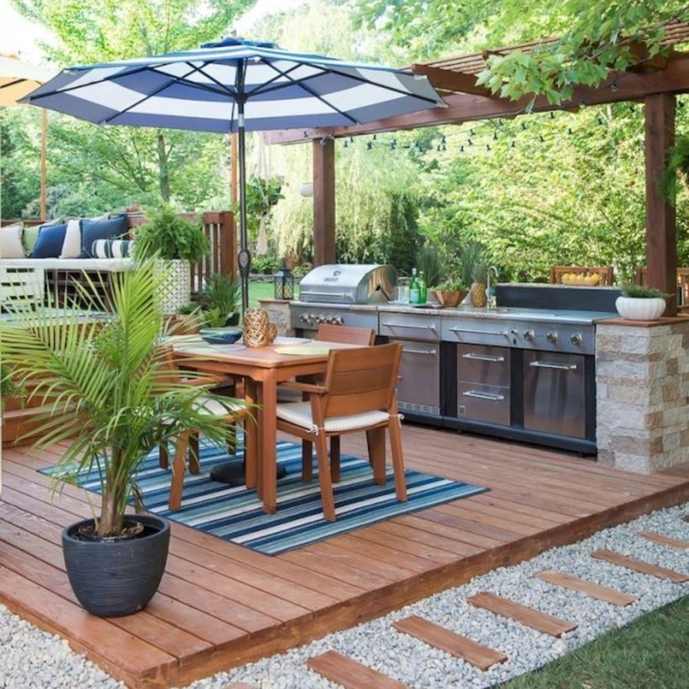 Cuisine d'extérieur : idées déco et aménagement pour l'été ...