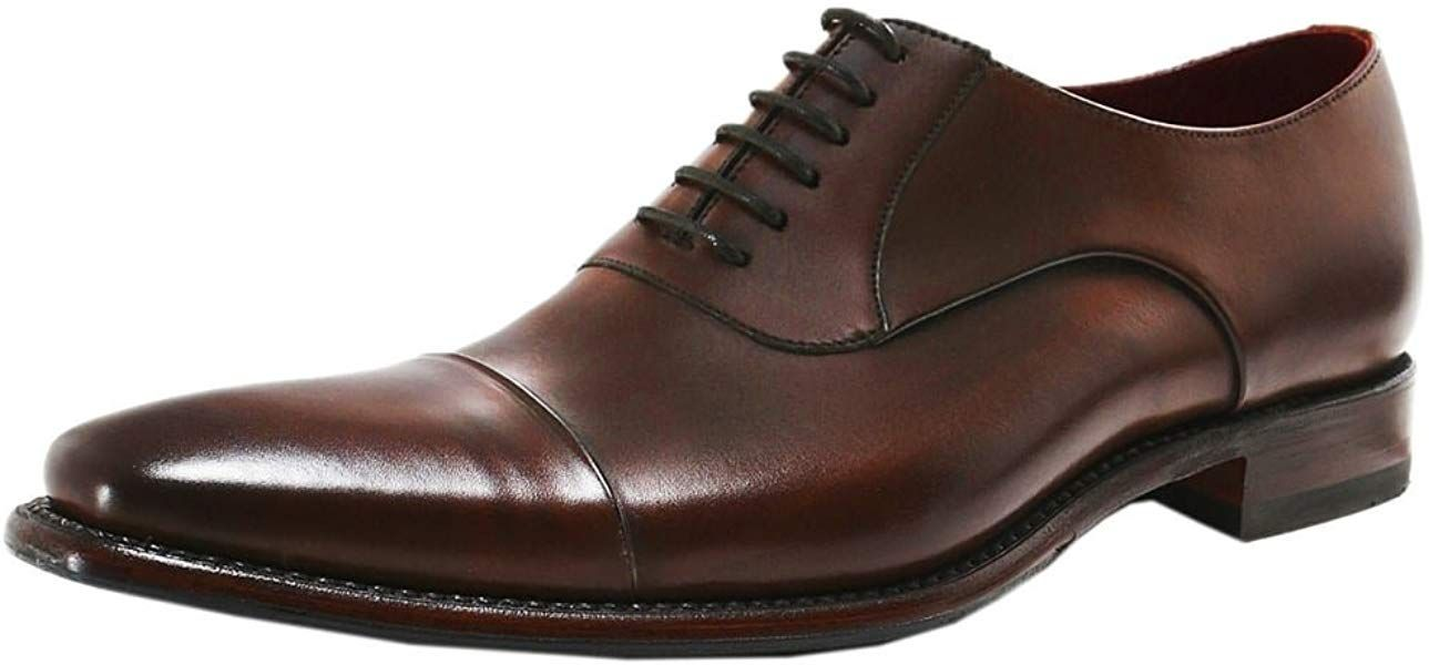 9b1c61e8 Loake Men's Leather Snyder Oxford Shoes Dark Brown - made in England;  #affiliate #menswear #mensshoes