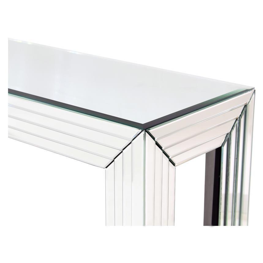 Dex Mirrored Console Table El Dorado Furniture Mirrored Console Table Mirror Console Console Table