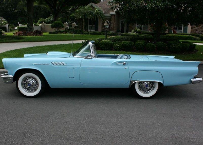 1957 Ford Thunderbird | MJC Classic Cars | Pristine Classic Cars For Sale – Loca…