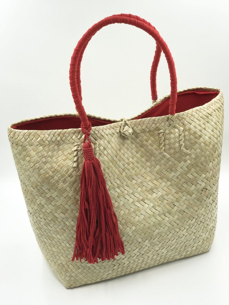 3a870337a Red Fabric, Jute, Philippines, Straw Bag, Hand Weaving, Reusable Tote Bags