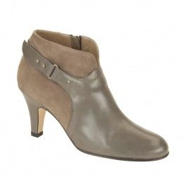 The Vanessa in Elephant calf. On sale for $495. #AnyiLu #boots #fashion #shoes