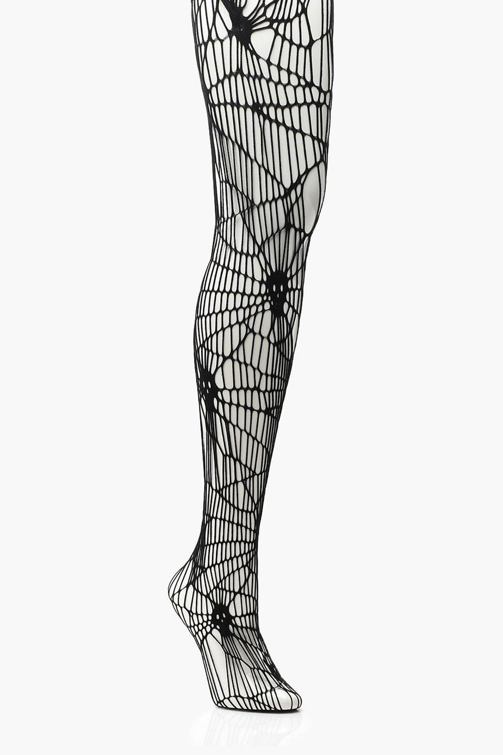 617d54b843068 Plus Halloween Skeleton Fishnet Tights in 2019 | Spooky with a Booty ...