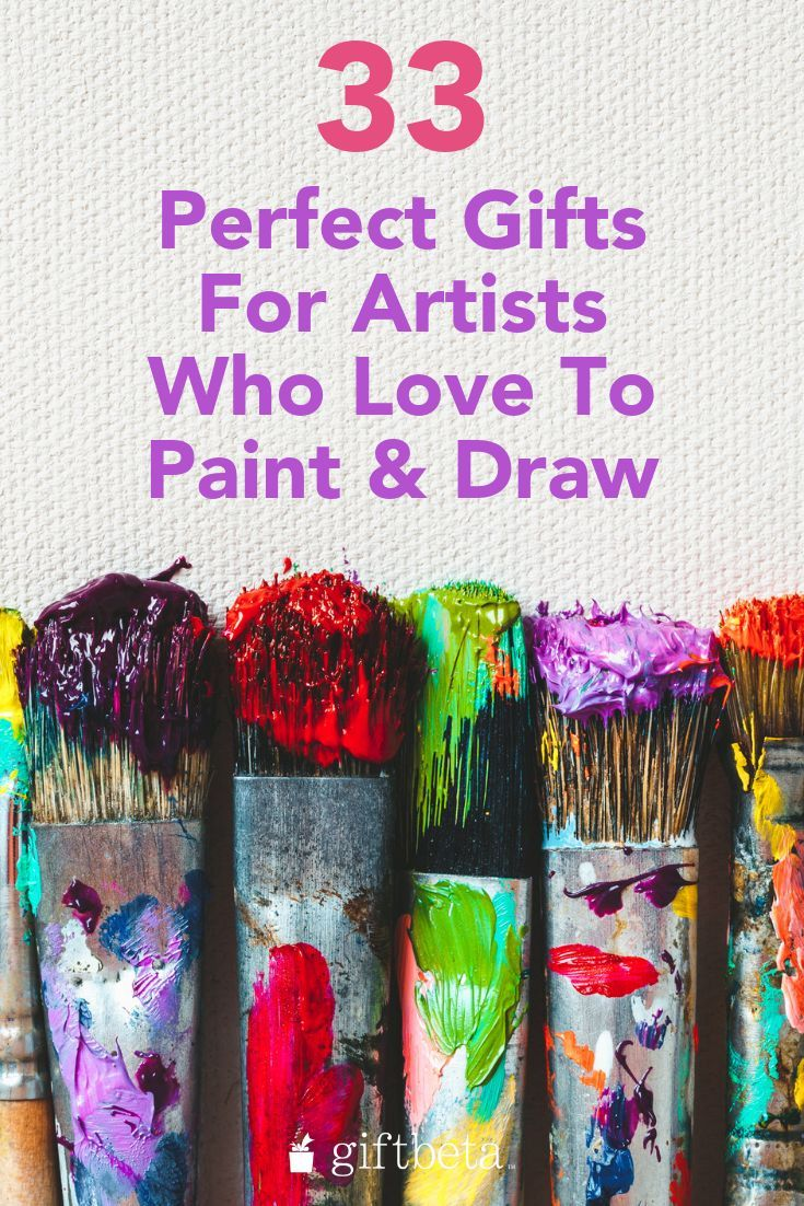 best gifts for artists who paint