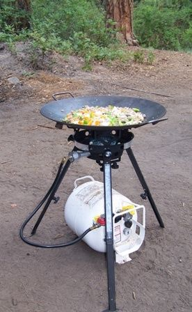 Discada Portable Height Adjustable Burner Cowboy Cooking