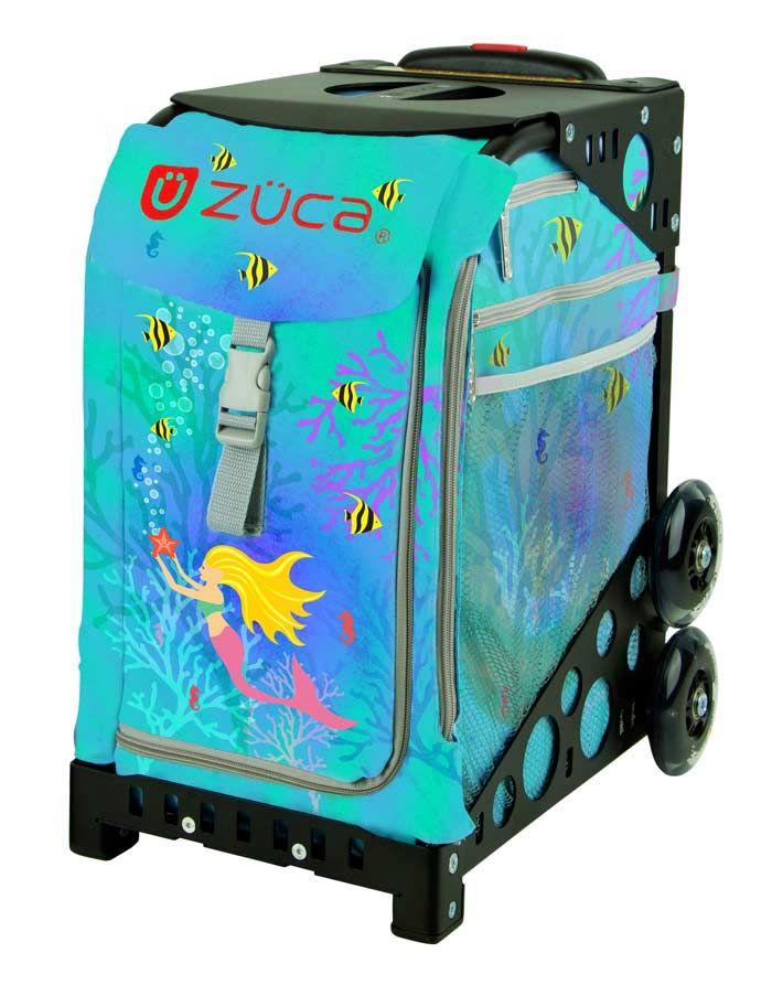 Zuca mermaid ice skate luggage   Monica s Mermaid Room   Ice skating ... e3f4aedd98