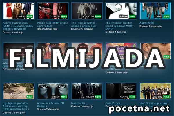 Sa filmova za sajt gledanje i prevodom serija Filmovi sa