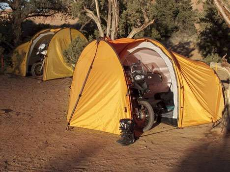 70 Clever C&ing Inventions. Motorcycle GarageMotorcycle TravelMotorcycle ... & 70 Clever Camping Inventions | Tents Clever and Camping