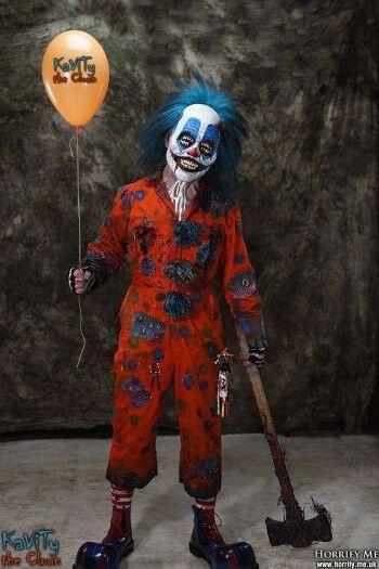 Creepy clown Jceppallaso Pinterest Creepy clown, Creepy and - circus halloween decorations