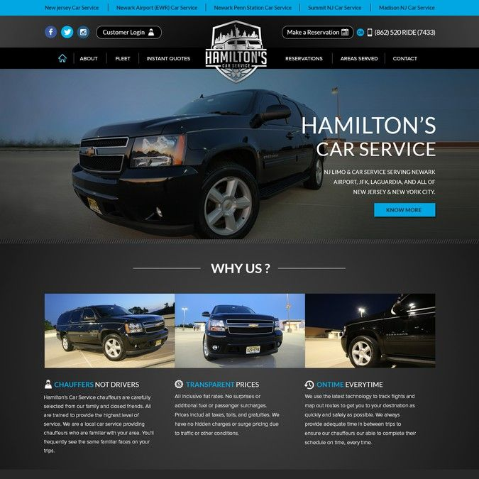 Design a classy wordpress theme for family owned Limo/Car Service by Gendesign