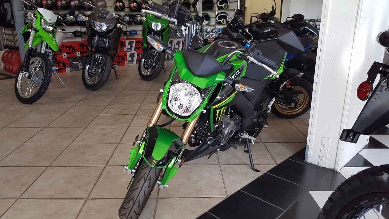 2017 Kawasaki Z125 Pro Monster Energy Special Monster Energy