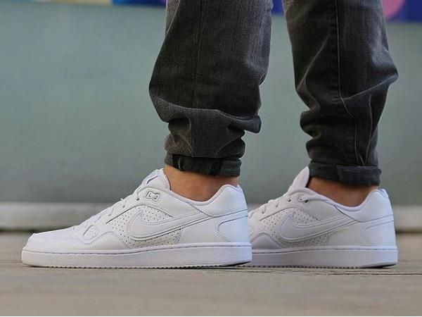 6682cff8c2481e Nike SON OF FORCE Low Top Men s Sneakers - All White size 11  fashion   clothing  shoes  accessories  mensshoes  athleticshoes (ebay link)