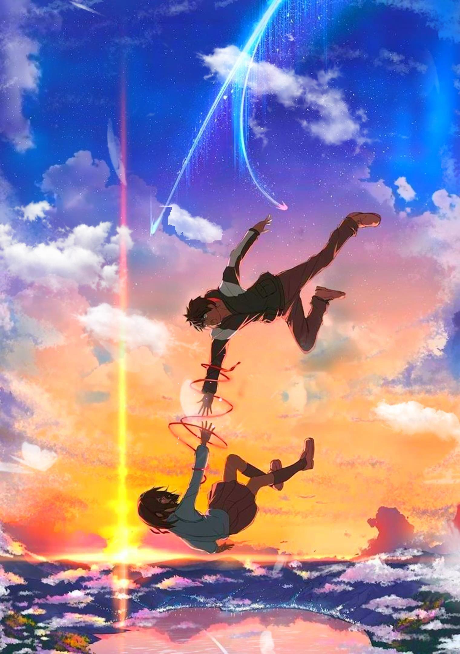 Your Name Animated Wallpaper Video Anime Music Anime Anime Scenery