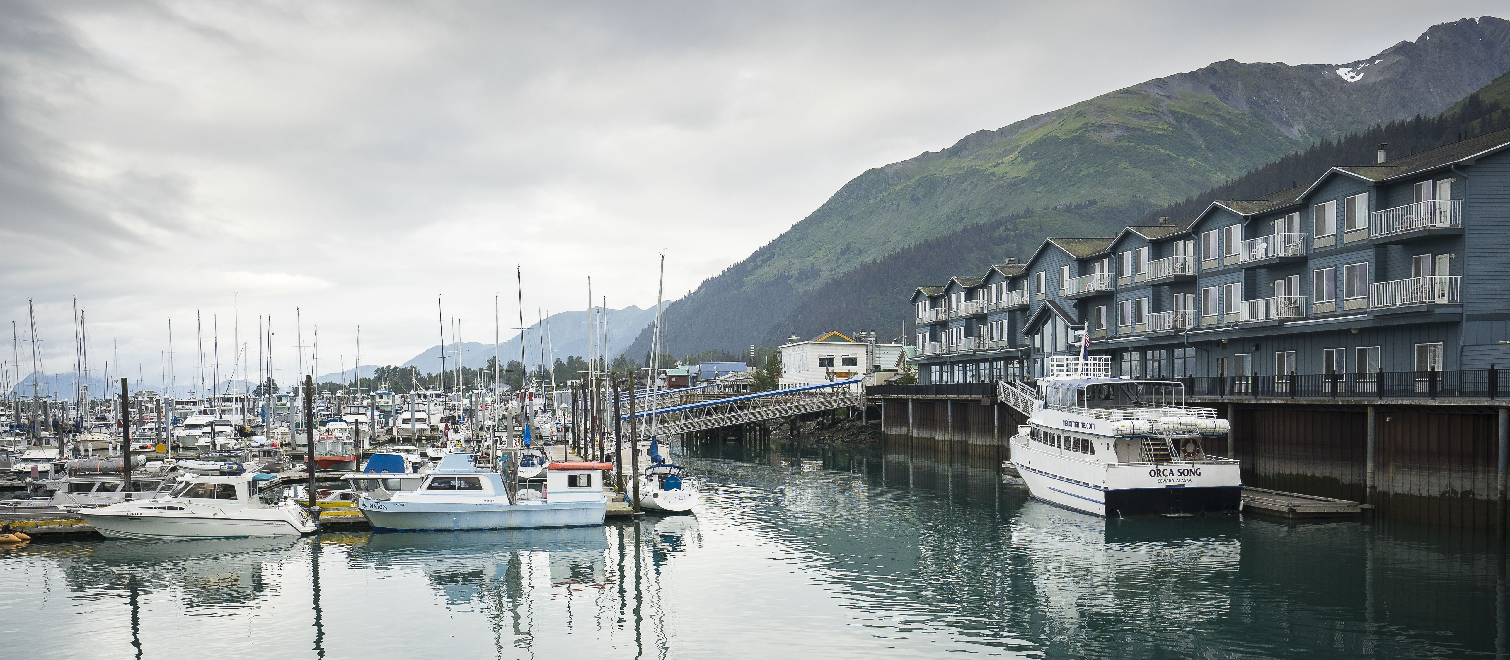 Harbor 360 Hotel Is The Premier Waterfront Hotel In Seward Alaska Located Directly On The Seward Small Boat H Hotel Kenai Fjords National Park Hotel Packages