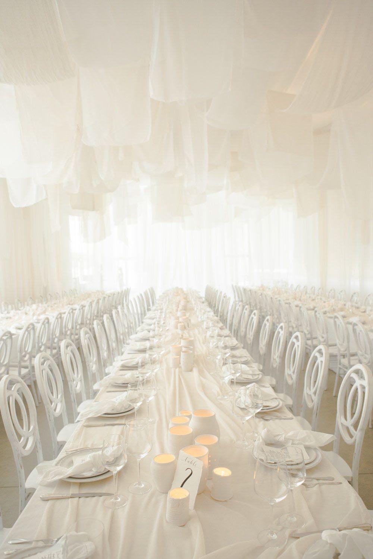 Modern, Monochromatic Indian + Afghani Wedding   Linen rentals ...