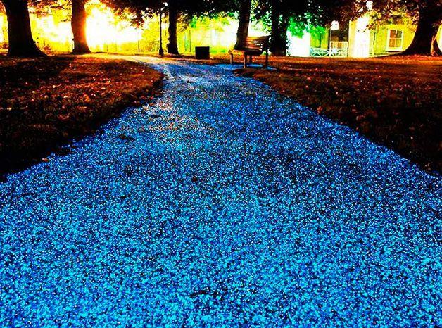 Camino de estrellas, un pavimento inteligente capta luz de día e - logiciel pour construire une maison