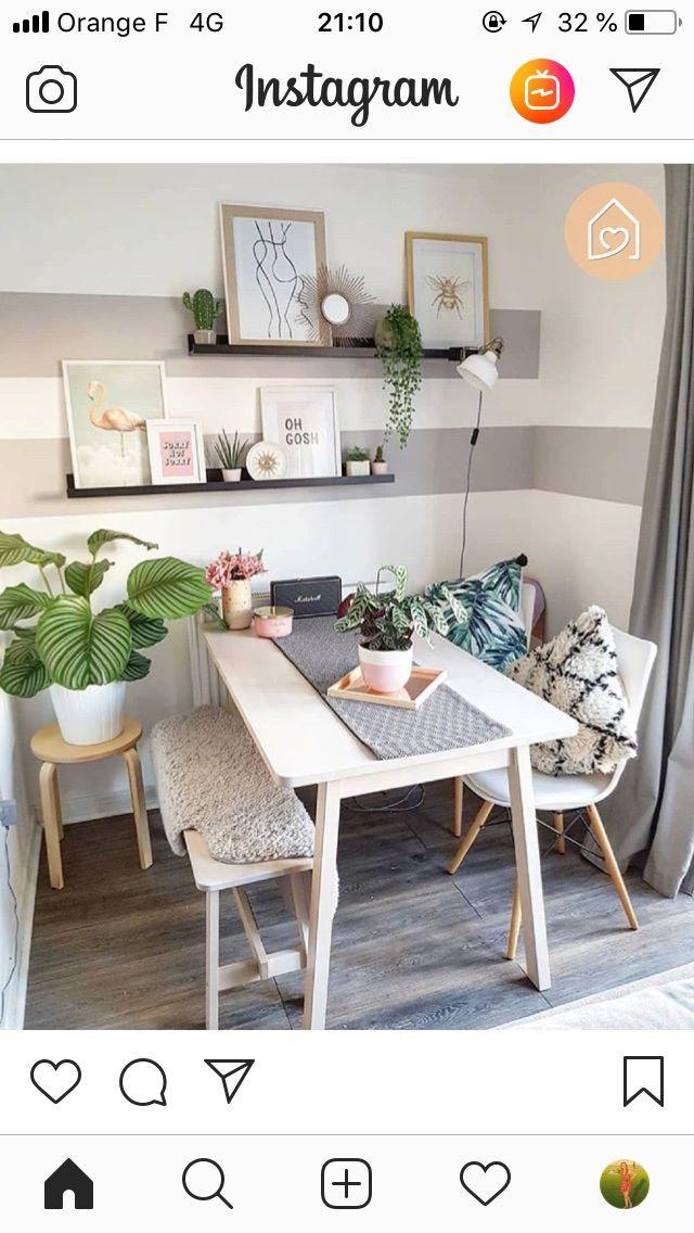 Ecke Kratzbaum Und Ecke Tv Wand In 2020 Esstisch Modern Wohnen Einzimmerwohnung Einrichten