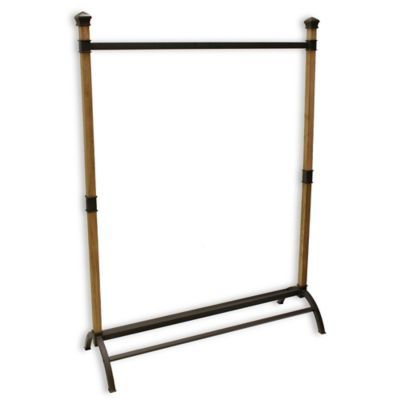 Bed Bath And Beyond Garment Rack Mesmerizing Buy Refined Closet Garment Rack With Shoe Rack Base From Bed Bath Design Ideas