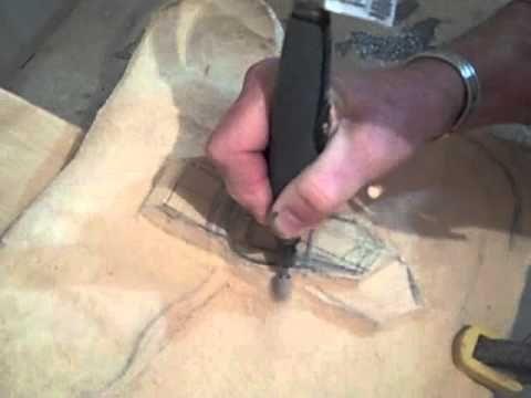Jordan Straker Carving with Dremel tools #woodcarvingtoo