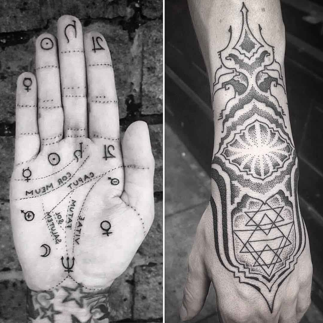 Spiritual Tattoos On Hands Best Tattoo Ideas Gallery Palm Tattoos Spiritual Tattoos Hand Tattoos