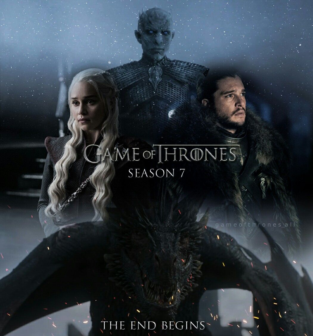 GAME OF THRONES WINTER IS HERE JON 24x36 POSTER GOT JON SNOW KING OF THE NORTH!!