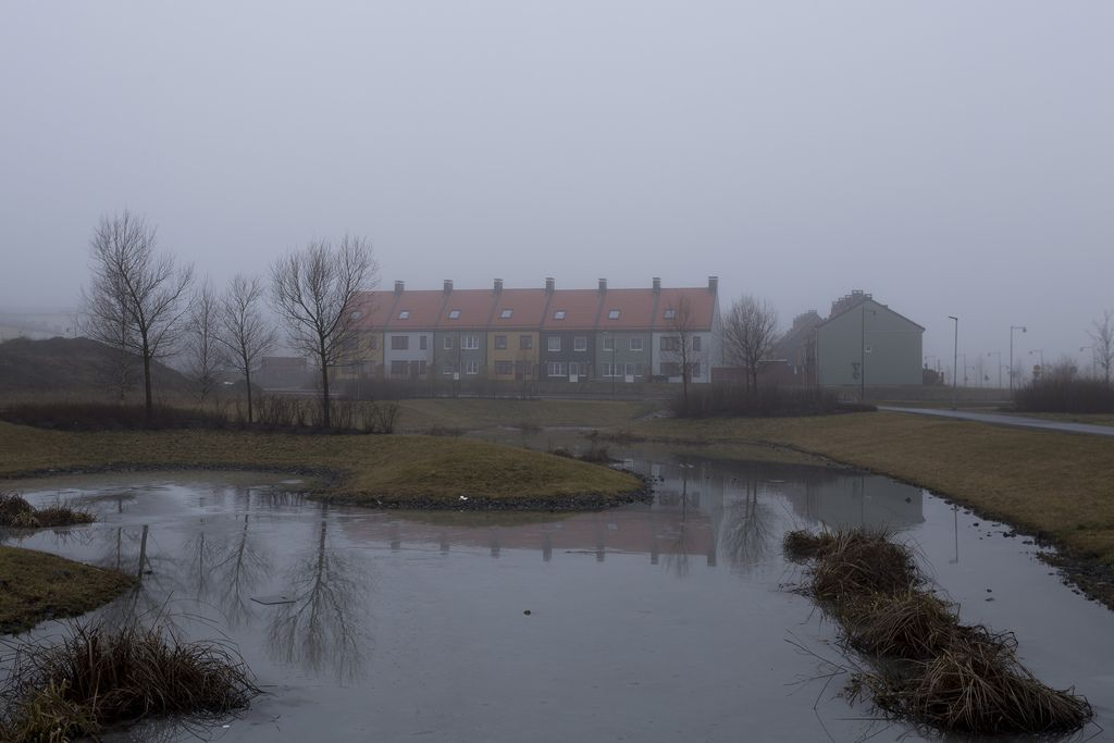 Foggy Day Foggy Night Rain Outdoor
