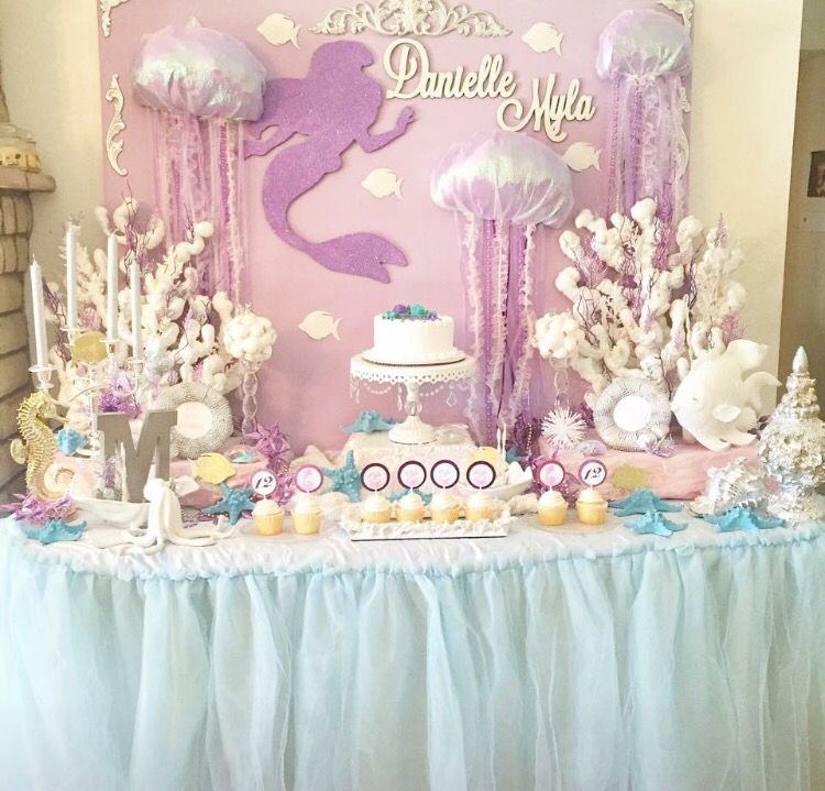 Starry eyed évents Mermaid Birthday party inspiration